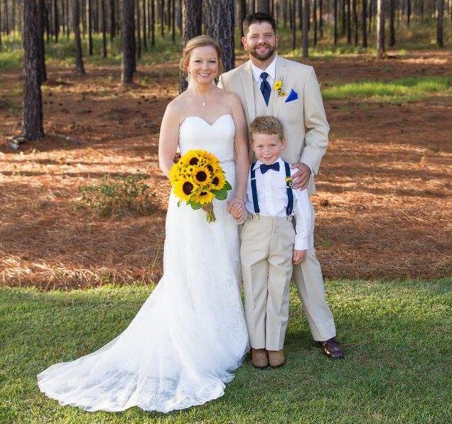 My little family at our wedding!