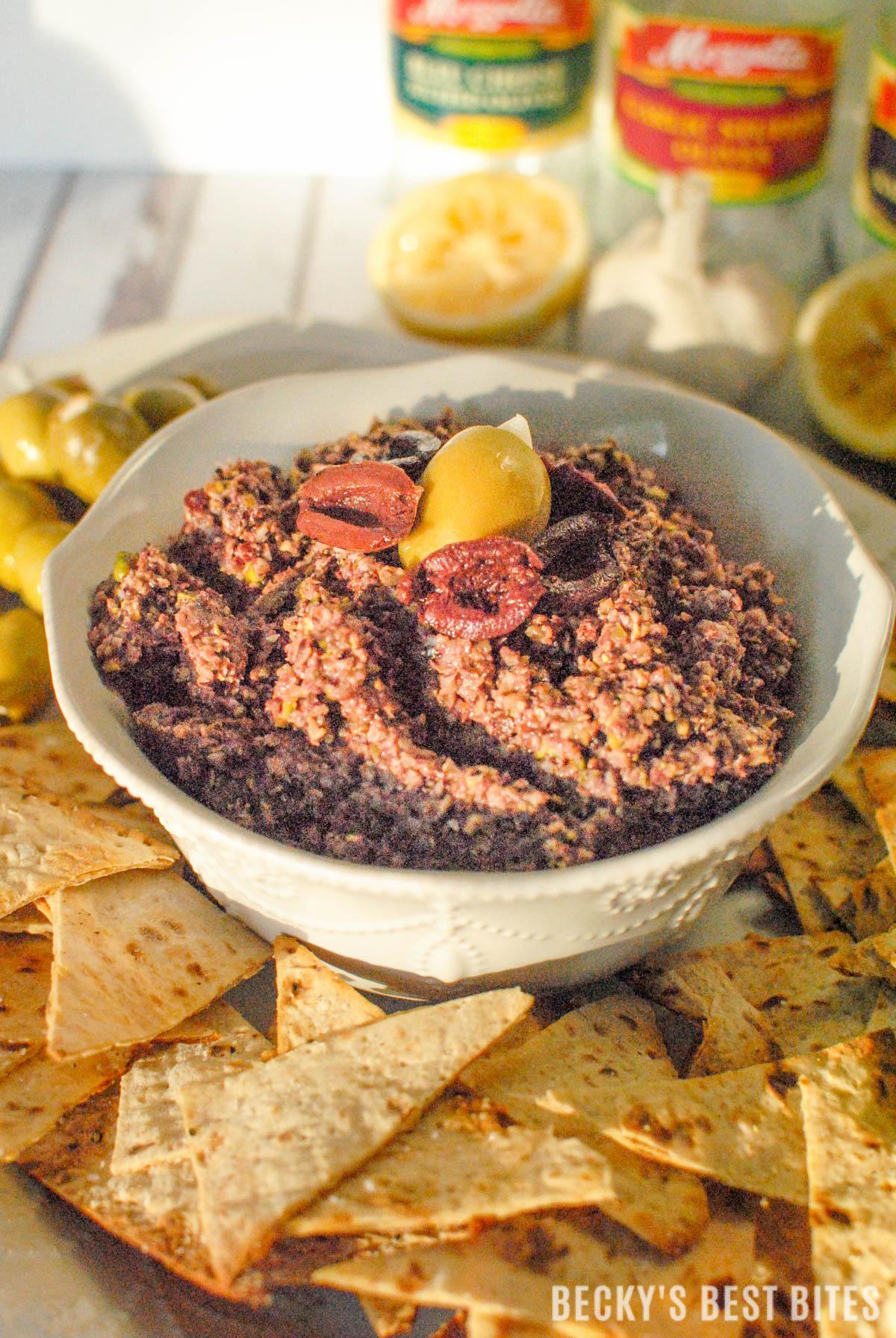 Olive and Pistachio Pesto #MezzettaMemories-8