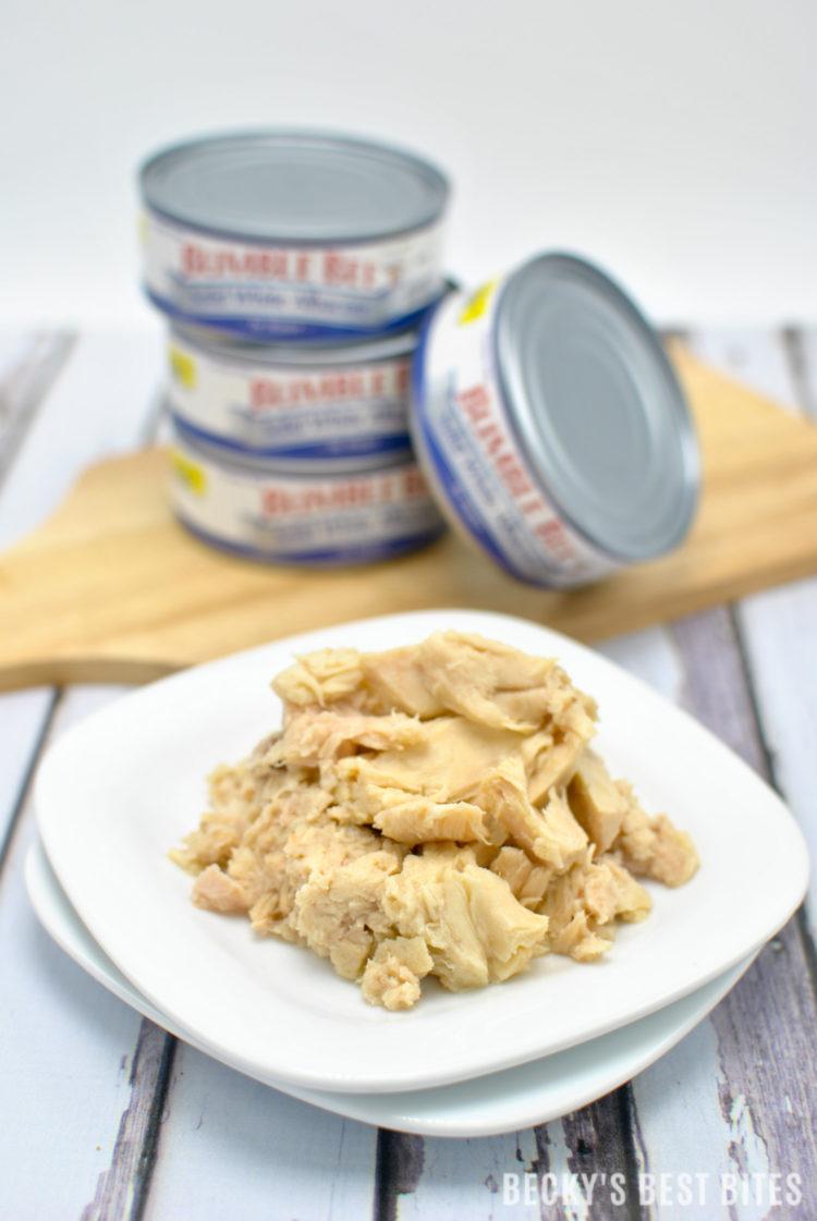 On The Go Loaded Tuna Quinoa Wraps | beckysbestbites.com