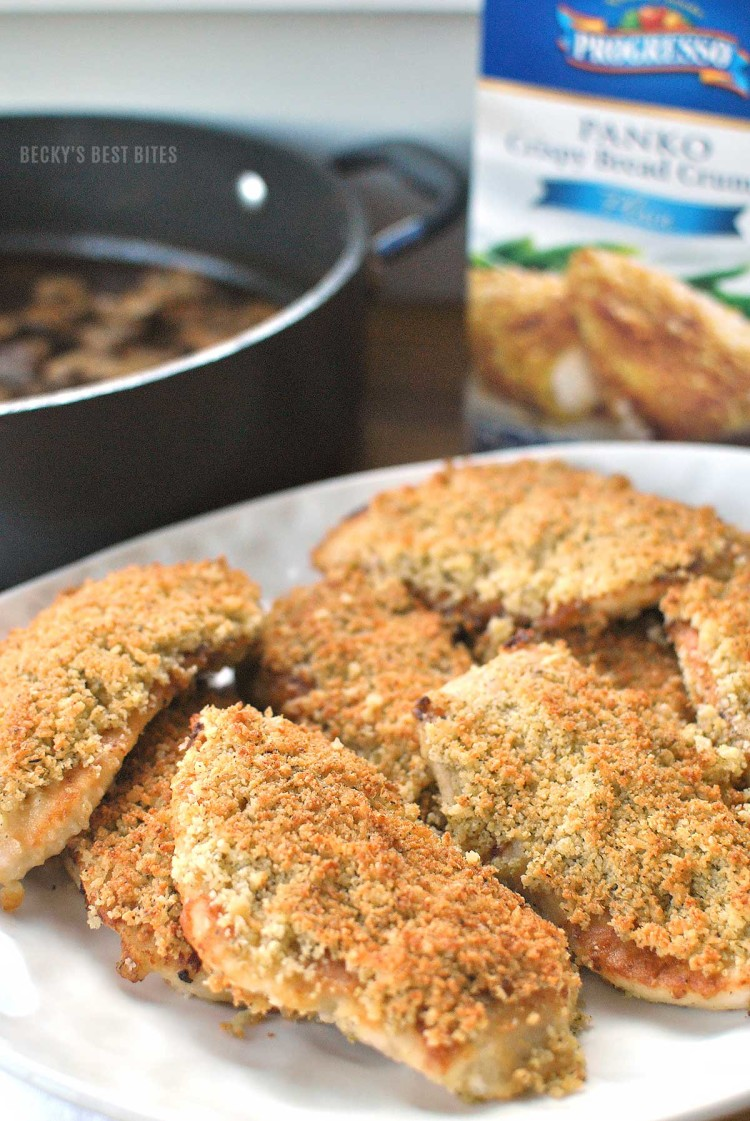 Chicken-Marsala-with-Parmesan-and-Panko-Bread-Crumbs-Topping-2