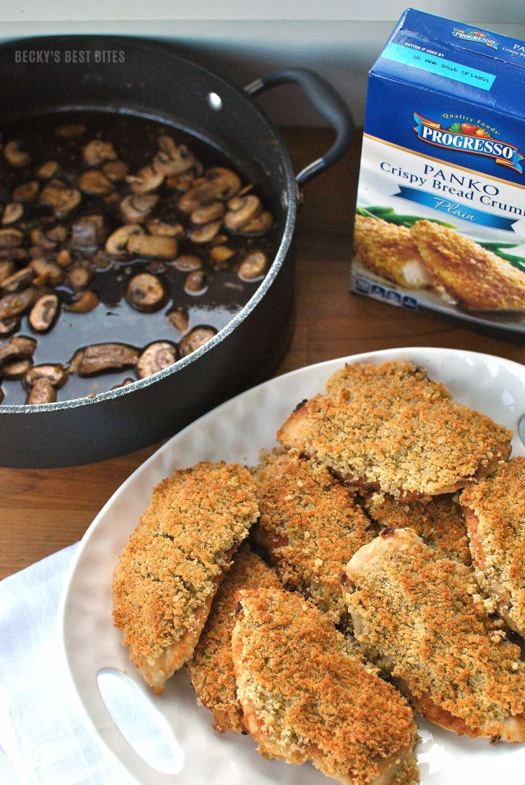 Chicken-Marsala-with-Parmesan-and-Panko-Bread-Crumbs-Topping