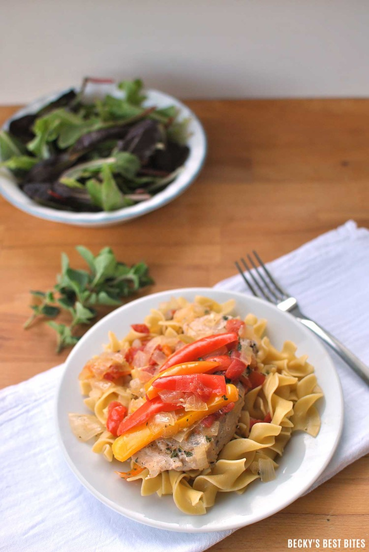 Lean-Pork-and-Sweet-Peppers-on-Noodles-4