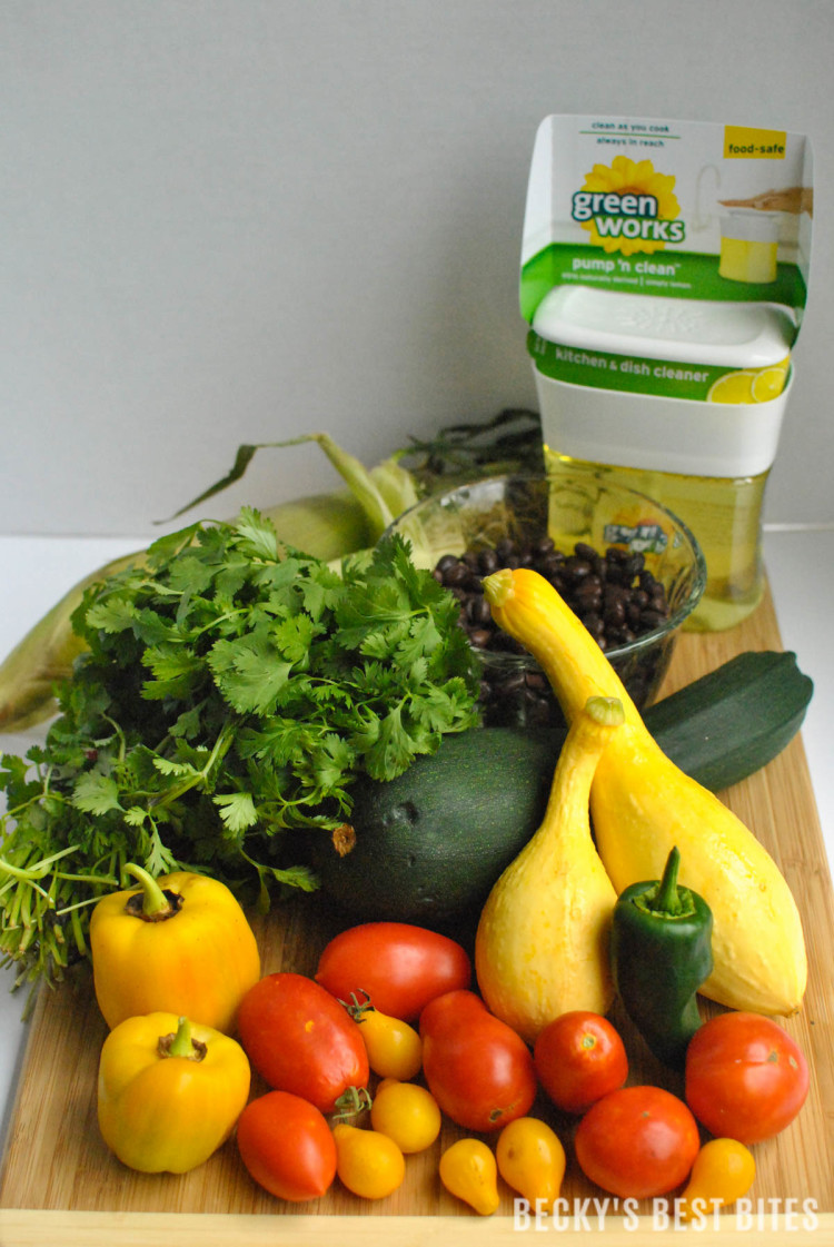 Ingredients for Honey Lime Mexican Chopped Salsa