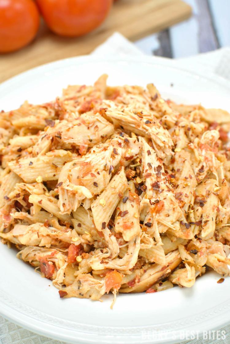 Slow Cooker Chicken Cacciatore | beckysbestbites.com