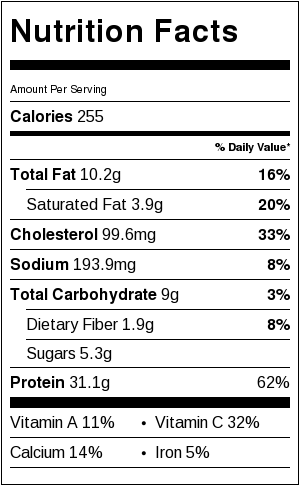 Nutritional information for Slow Cooker Chicken Caprese | beckysbestbites.com