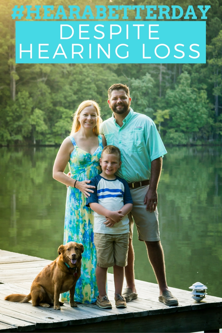 Hear A Better Day Despite Hearing Loss! Exploring our family's story of the impacts of hearing loss and how hearing aids could help you or a loved one enhance life! #ad #HearABetterDay | beckysbestbites.com #hearingloss #hearingaids #MiracleEar #MiracleEarExperience