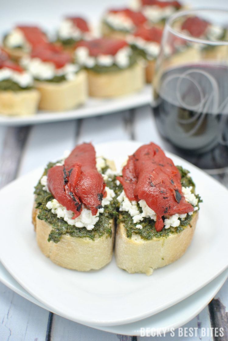 kale-pesto-goat-cheese-crostini-with-roasted-red-pepper-wines-of-garnacha-10