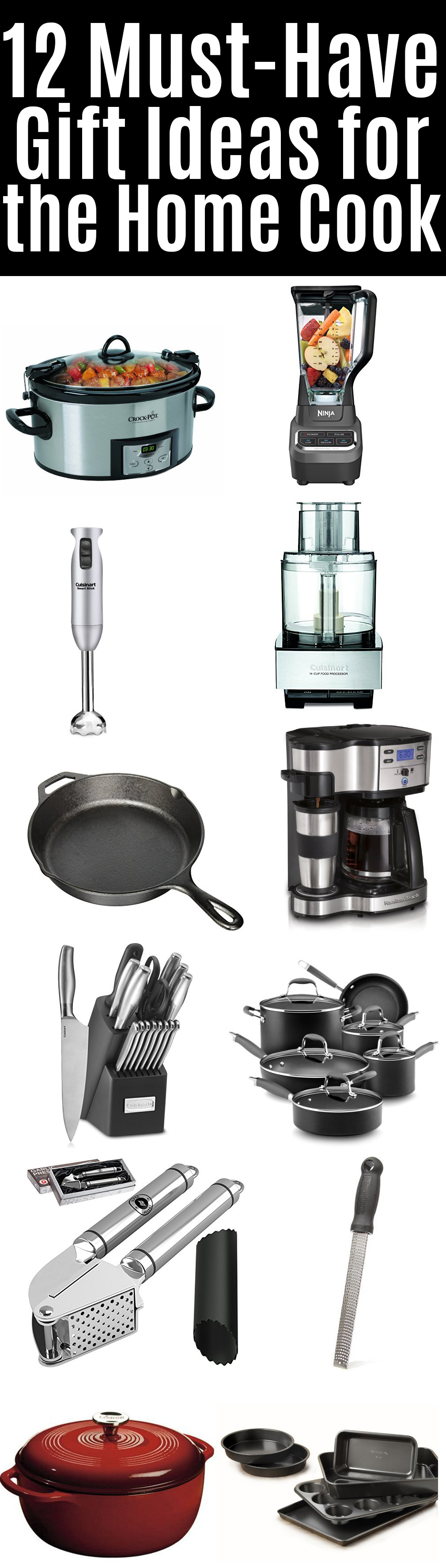 12 Must-Have Gift Ideas for the Home Cook | beckysbestbites.com