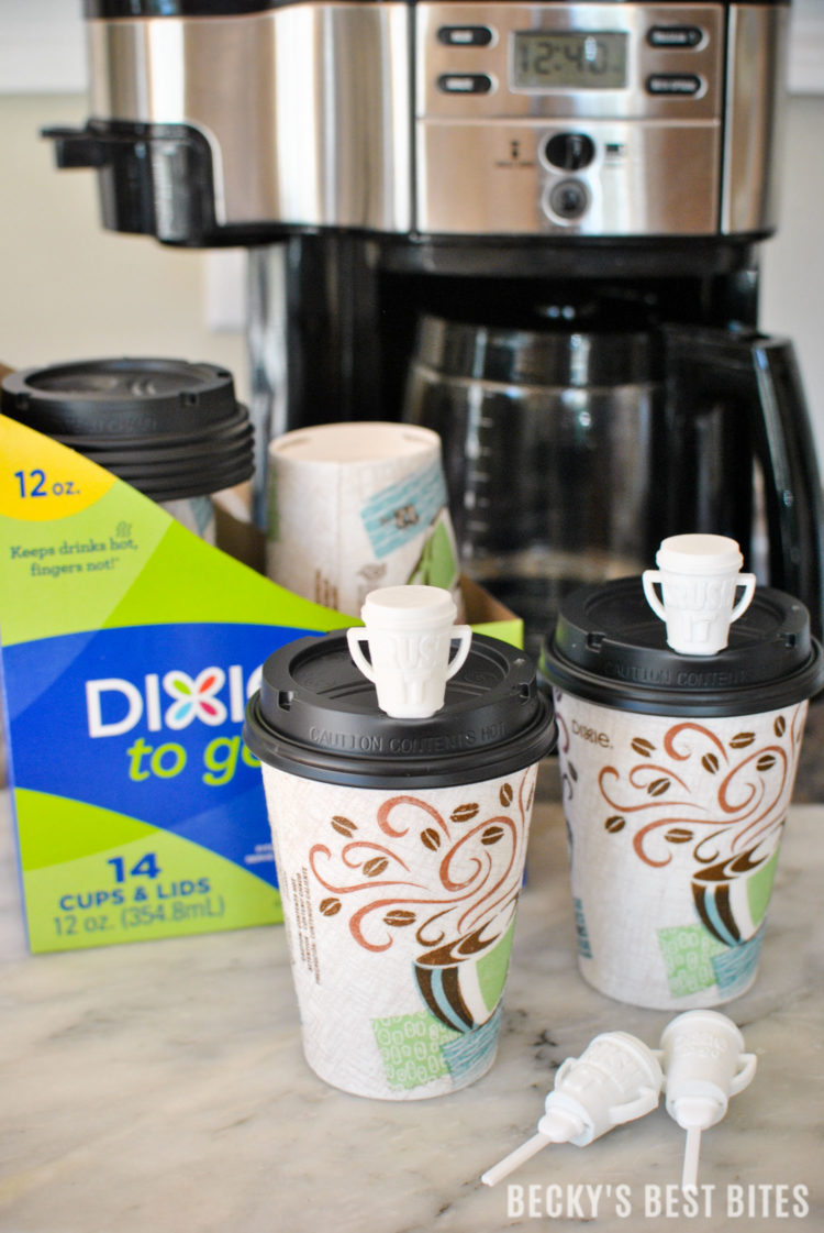 Stress Less Crush the Holidays with Dixie® To Go! Enjoy your hot beverages confidently with no effort, no clean up and no worries! More time to focus on the things that matter like celebrating this holiday season with friends, family and loved ones!! #CupForCrushingIt #ad | beckysbestbites.com