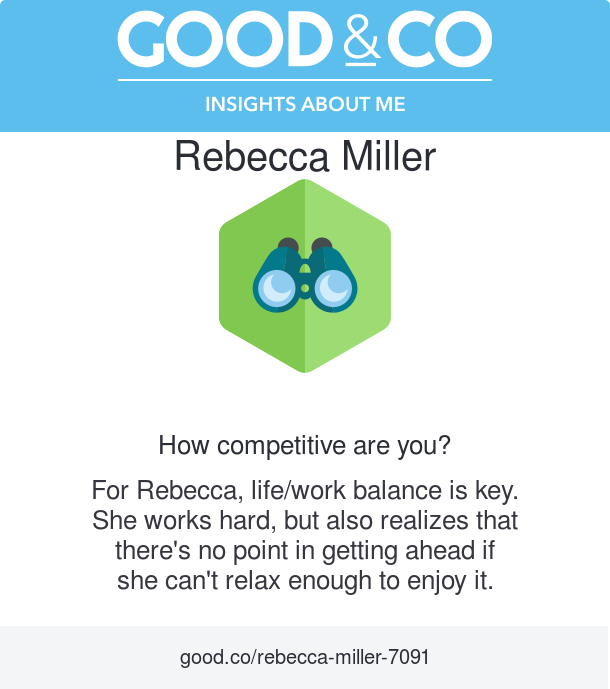 I Know the Key to Finding Workplace Happiness! Discover your personal brand and personality compatibility with the fun quizzes on the Good&Co career app. #ad #knowyourself | beckysbestbites.com