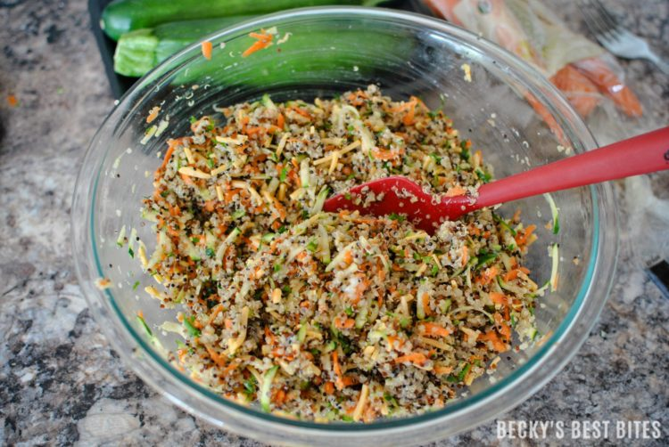 Veggie quinoa baby bites healthy recipe from beckys best bites veggie quinoa baby bites a healthy and easy recipe perfect for baby led weaning forumfinder Choice Image