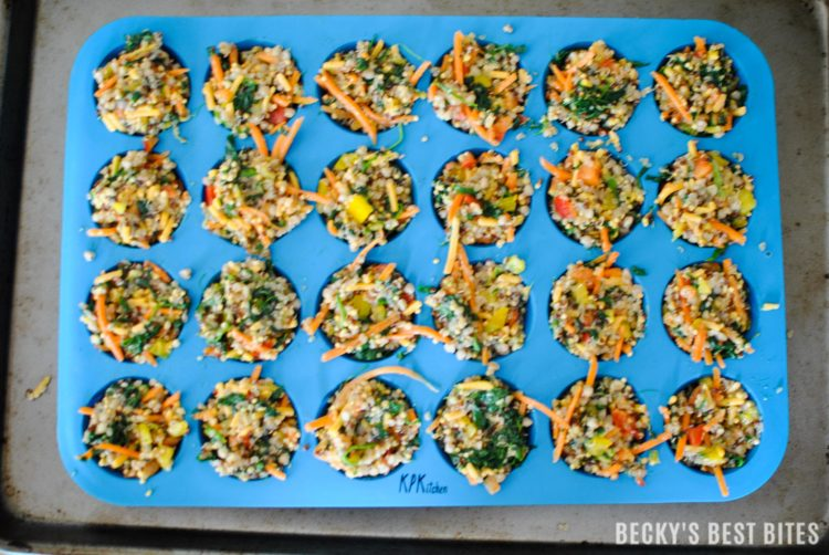 Bake And Enjoy These Ancient Grain Mini Veggie Bites As A Healthy After School Snack My 9 Month Old Nephews Have Been Enjoying Them Finger Foods